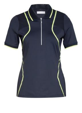 SPORTALM Funktions-Poloshirt mit Mesh-Einsätzen