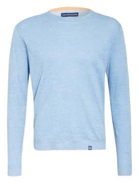 COLOURS & SONS Pullover RONALD mit Leinen