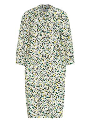 seidensticker Hemdblusenkleid mit 3/4-Arm und Schluppe