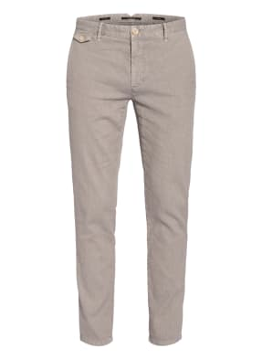ALBERTO Chino ROB Slim Fit mit Leinen