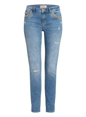 MOS MOSH Skinny Jeans BREAKFOR MERCURY mit Nietenbesatz