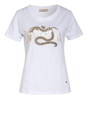 MOS MOSH T-Shirt VEE mit Schmucksteinbesatz