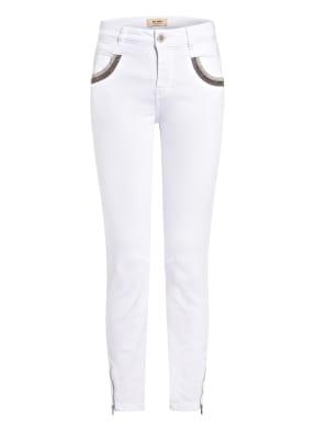 MOS MOSH 7/8-Jeans NAOMIE mit Schmucksteinbesatz