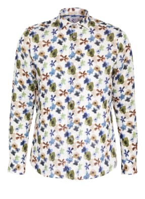 R2 Amsterdam Leinenhemd Slim Fit