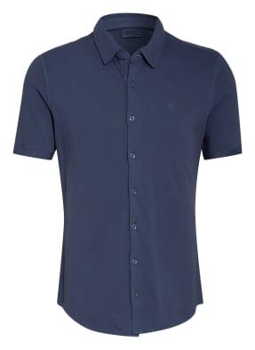 STROKESMAN'S Kurzarm-Hemd Slim Fit aus Piqué