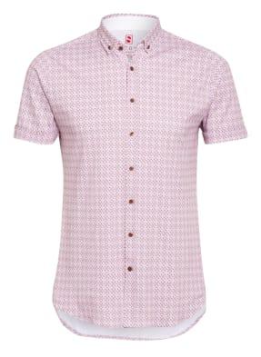 DESOTO Kurzarm-Hemd Slim Fit aus Jersey