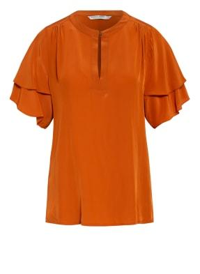 summum woman Blusenshirt mit Volantbesatz