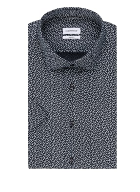 seidensticker Kurzarm-Hemd Shaped Fit aus Leinen