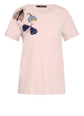 WEEKEND MaxMara T-Shirt TRACIA mit Perlenbesatz