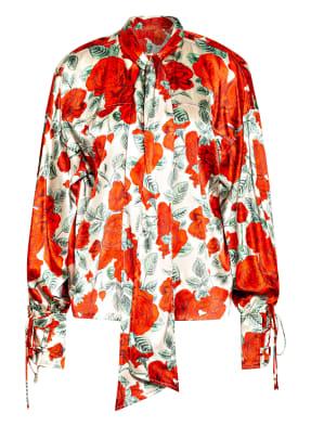 GANNI Oversized-Bluse aus Seide