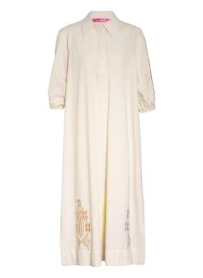 yippie hippie Kleid mit Glitzergarn