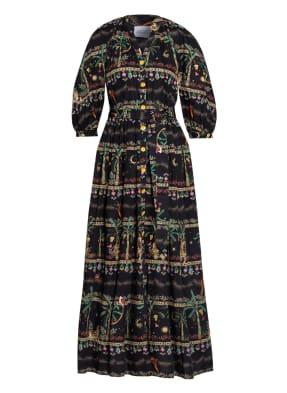 HAYLEY MENZIES Kleid aus Lochspitze mit 3/4-Arm