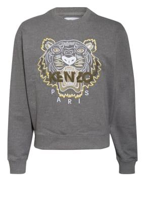 KENZO Sweatshirt TIGER CLASSIC mit Stickereien