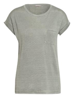 HEMISPHERE T-Shirt aus Leinen