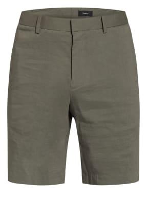 Theory Chino-Shorts Regular Fit mit Leinen