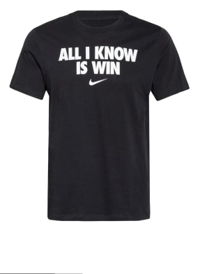 Nike T-Shirt ALL I KNOW IS WIN