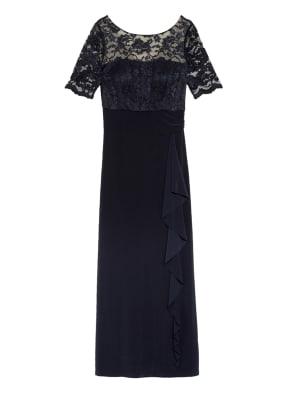 Vera Mont Abendkleid mit Spitzeneinsatz