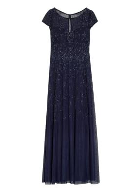 Vera Mont Abendkleid mit Perlen- und Paillettenbesatz