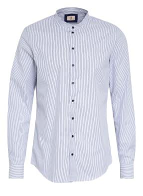Q1 Manufaktur Hemd Extra Slim Fit mit Stehkragen