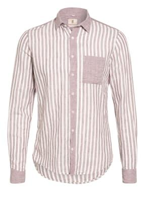 Q1 Manufaktur Hemd Slim Fit mit Leinen