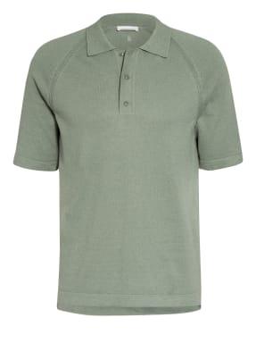 ARMEDANGELS Strick-Poloshirt PAALI mit Leinen