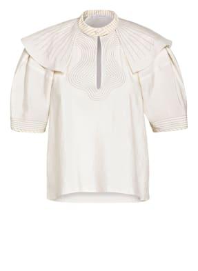 Chloé Blusenshirt aus Seide mit Volantbesatz