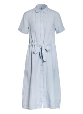 TOMMY HILFIGER Hemdblusenkleid aus Leinen