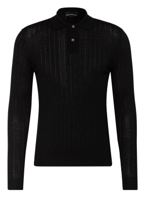EMPORIO ARMANI Strick-Poloshirt