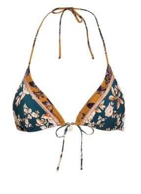 watercult Triangel-Bikini-Top OTTOMANE FLOWER mit Glitzergarn