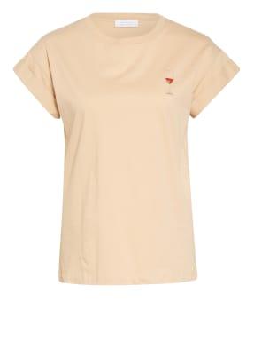 rich&royal T-Shirt mit Schmucksteinbesatz