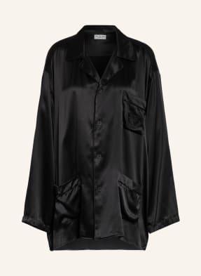 BALENCIAGA Oversized-Bluse aus Seide