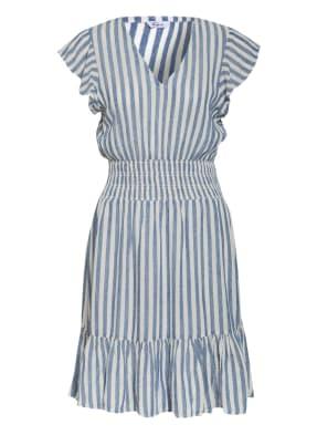 Rails Kleid TARA mit Leinen und Volantbesatz