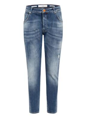 GOLDGARN DENIM Destroyed Jeans Slim Fit