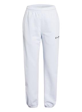 Off-White Hose im Jogging-Stil