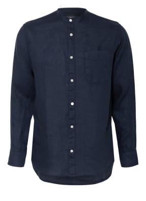 NN07 Leinenhemd JUSTIN Comfort Fit mit Stehkragen