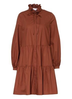 IVY & OAK Kleid mit Rüschenbesatz