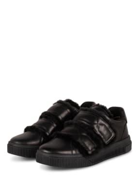 MARC CAIN Sneaker mit Lammfellbesatz