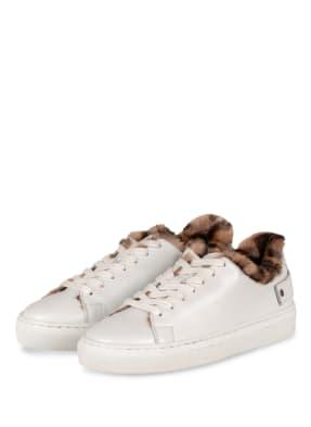 MARC CAIN Sneaker mit Kunstfellbesatz