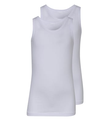 SCHIESSER 2er-Pack Unterhemden