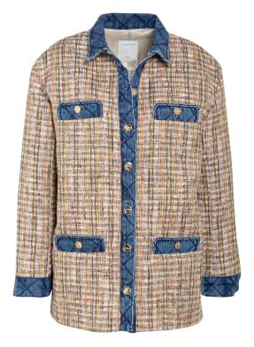 sandro Overjacket aus Tweed