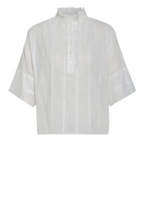 sandro Blusenshirt mit Rüschenbesatz