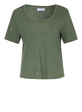 CLAUDIE PIERLOT T-Shirt THEATRE aus Leinen
