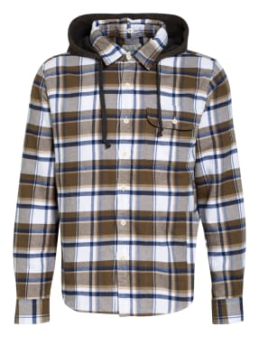 AMERICAN EAGLE Overshirt im Materialmix