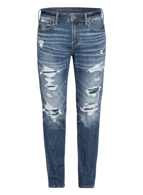AMERICAN EAGLE Destroyed Jeans AIRFLEX+ Athletic Skinny Fit