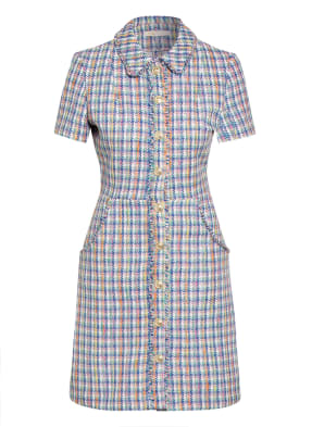 maje Tweed-Kleid RENIZAM mit Glitzergarn