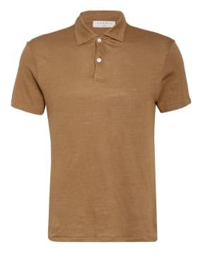 sandro Jersey-Poloshirt aus Leinen