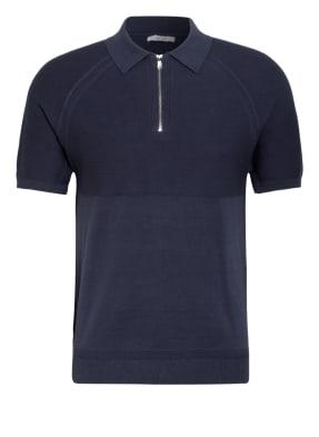 REISS Strick-Poloshirt COLUMBUS