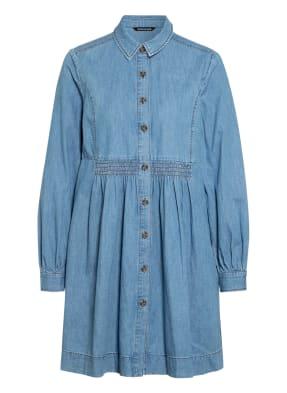 WHISTLES Hemdblusenkleid in Jeansoptik