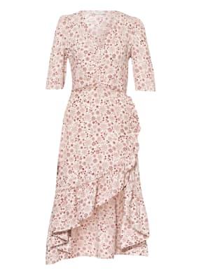 sandro Kleid mit Volantbesatz