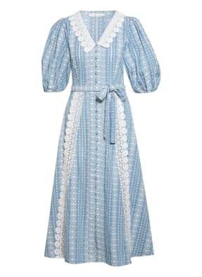 maje Kleid RAVIANA mit Spitzenbesatz